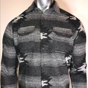 Hurley x Pendleton wool button down small NWT
